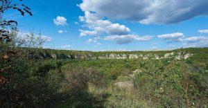 Ansicht Felsen bei Ivanovo